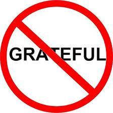 A Lack of Gratitude