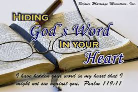 Hiding God's Word in Your Heart