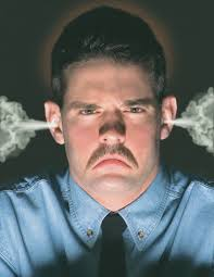Angry Man's Face