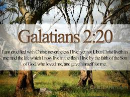Galatians 2 20 B