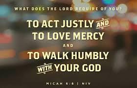 Micah 6 8 II