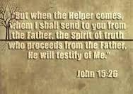 John 15 26