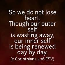 2 Corithians 4 16
