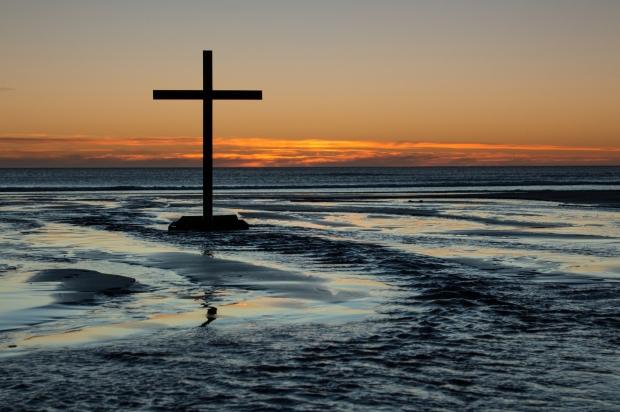 Cross Of Flowing Waters