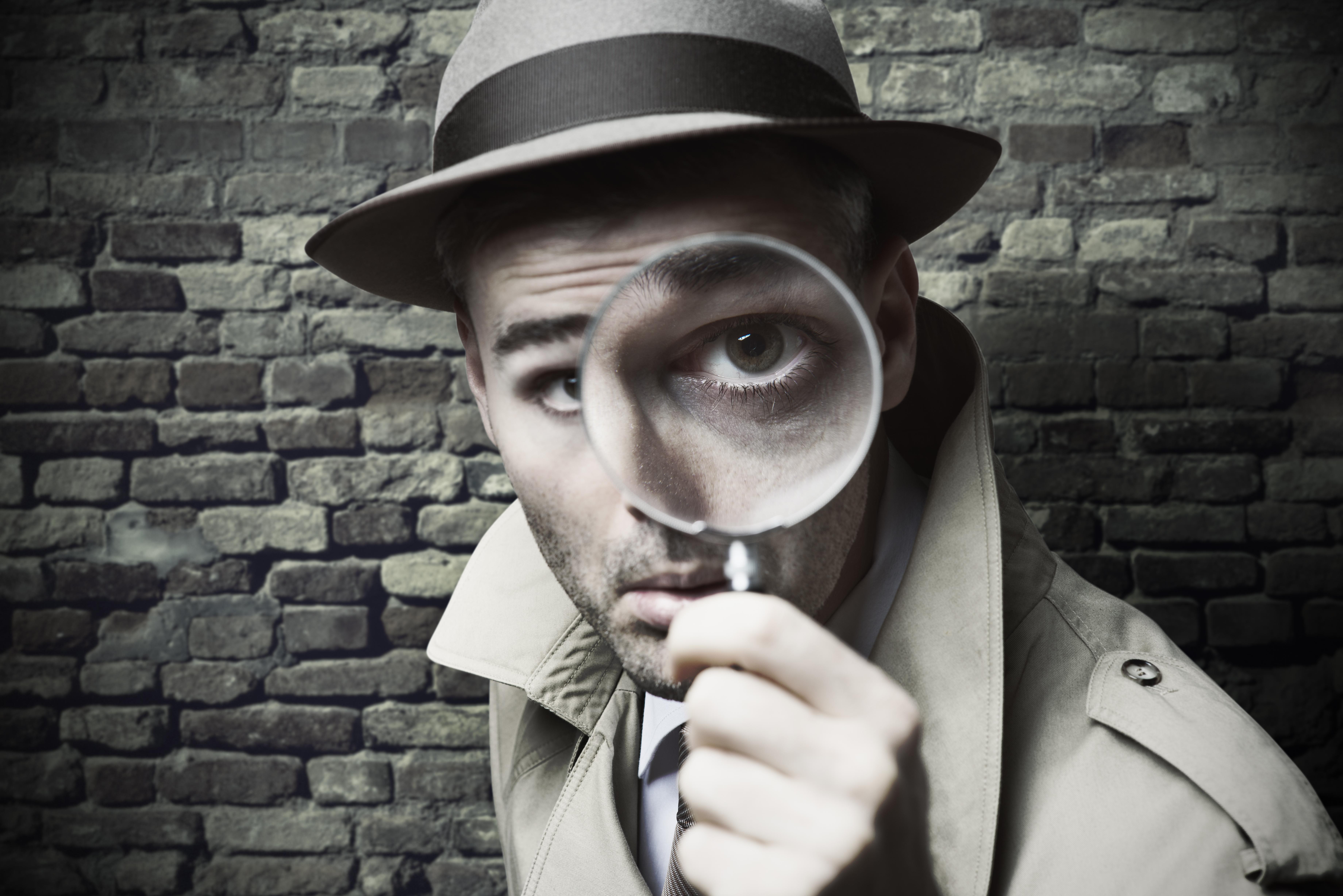 Детектив картинки смешные
