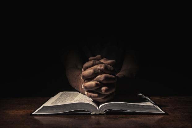 Praying in the dark